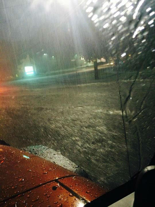 "<div class=""meta image-caption""><div class=""origin-logo origin-image ""><span></span></div><span class=""caption-text"">Lightning and heavy rains hit the Philadelphia area on July 14, 2014. (@skahn28 in Cinnaminson, NJ / Twitter)</span></div>"