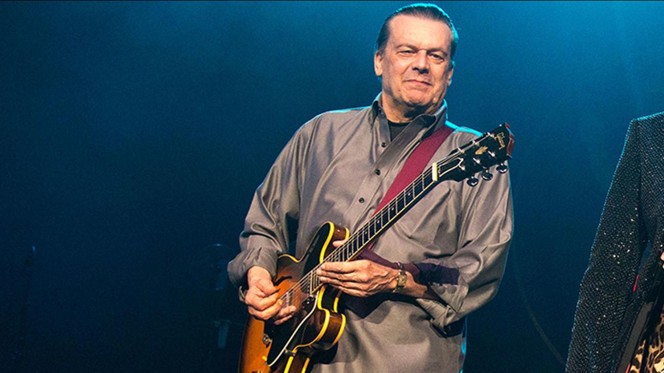 Musician John Warren Geils Jr., founder of the J. Geils Band.