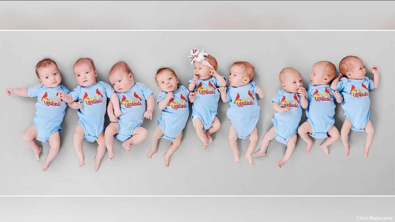 Doctor delivers 'baseball team' with 3 sets of triplets in 6 weeks