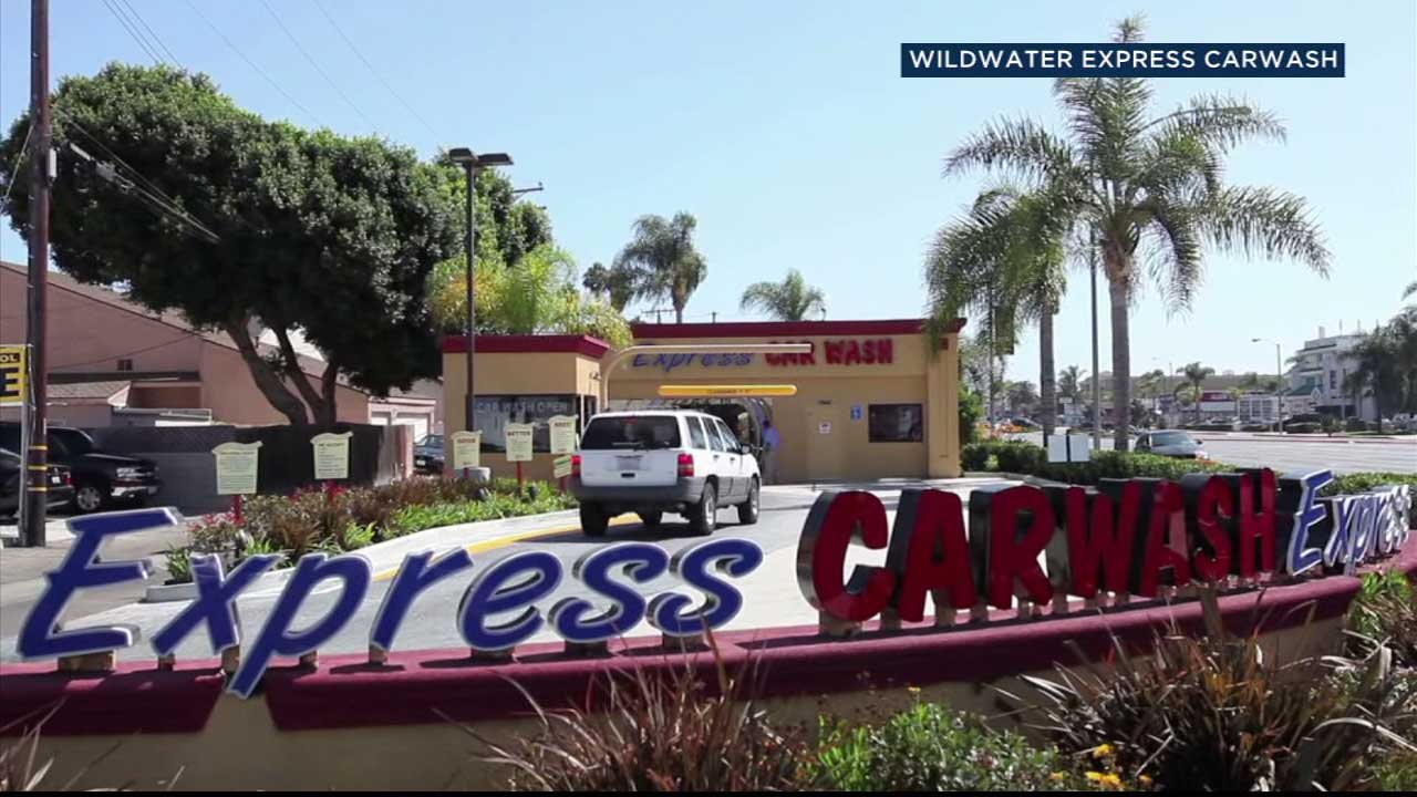 A WildWater Express Carwash location is seen in this file photo.
