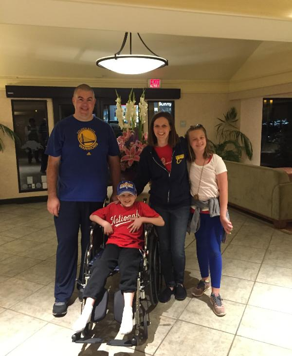 "<div class=""meta image-caption""><div class=""origin-logo origin-image none""><span>none</span></div><span class=""caption-text"">The Formaker family leaves their hotel in Palo Alto, CA, the morning of Chris's rotationplasty surgery on May 7, 2015. (Photo submitted to KGO-TV by the Formaker family)</span></div>"