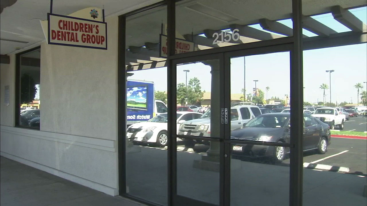 The Children's Dental Group of Anaheim's storefront is shown in a file photo.