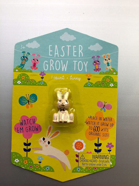 "<div class=""meta image-caption""><div class=""origin-logo origin-image none""><span>none</span></div><span class=""caption-text"">Easter Grow Toy - Brown Bunny (Target)</span></div>"