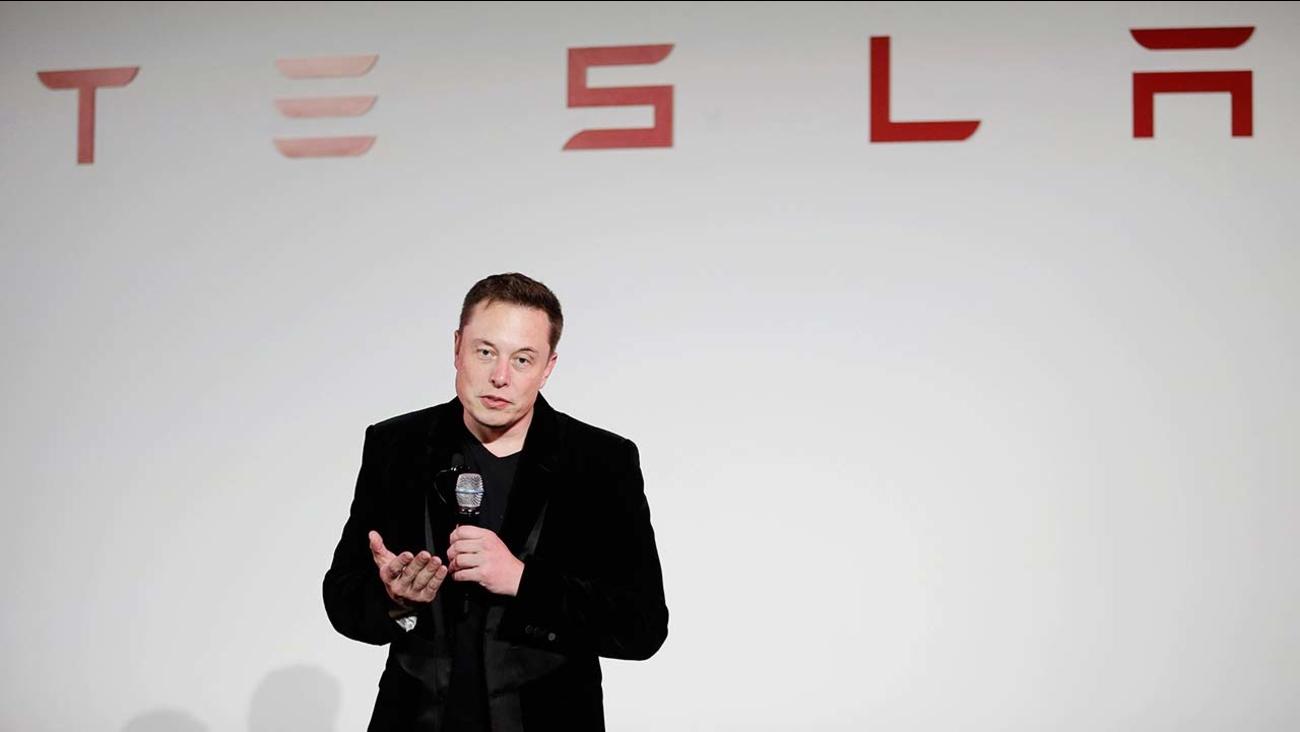 FILE - Elon Musk, CEO of Tesla Motors Inc.