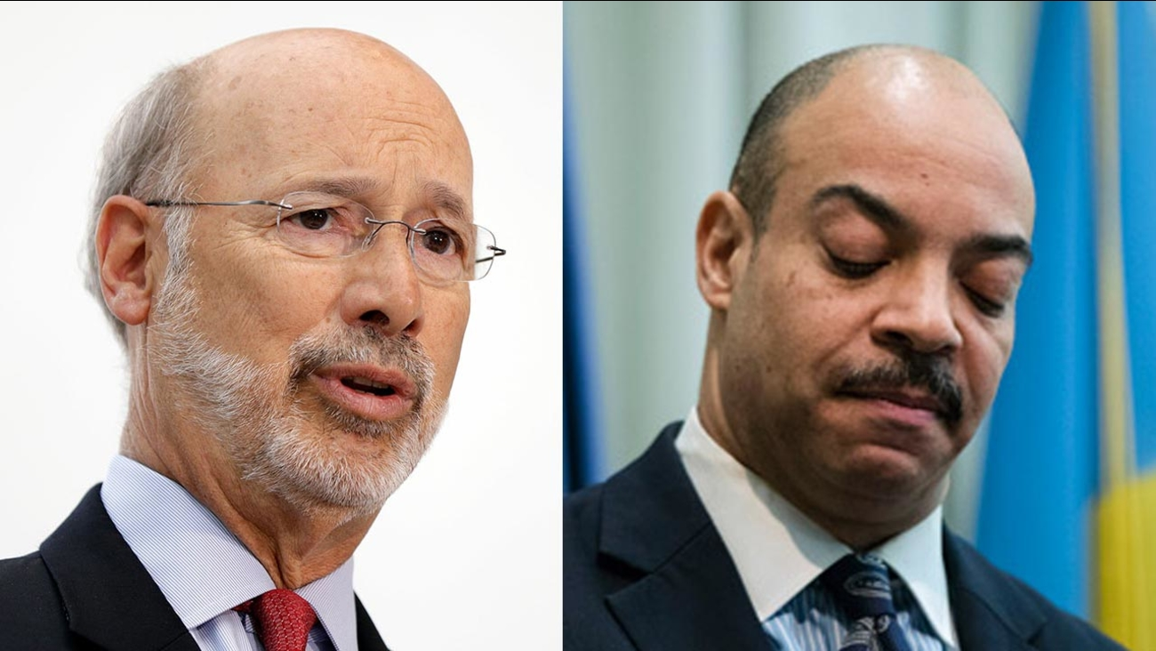 Gov  Wolf: 'Beyond time' for DA Seth Williams to resign