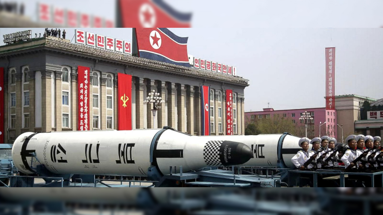North Korea missiles on parade (File)
