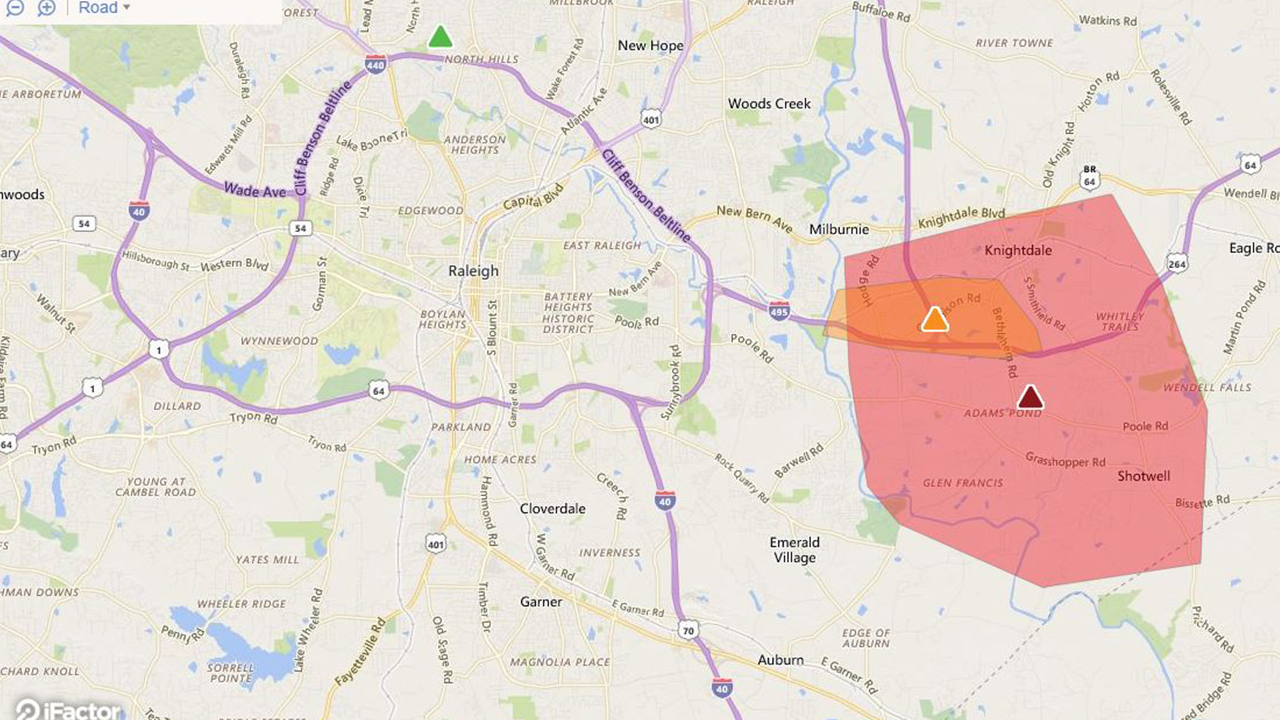 The company estimates over 7,000 customers are without power