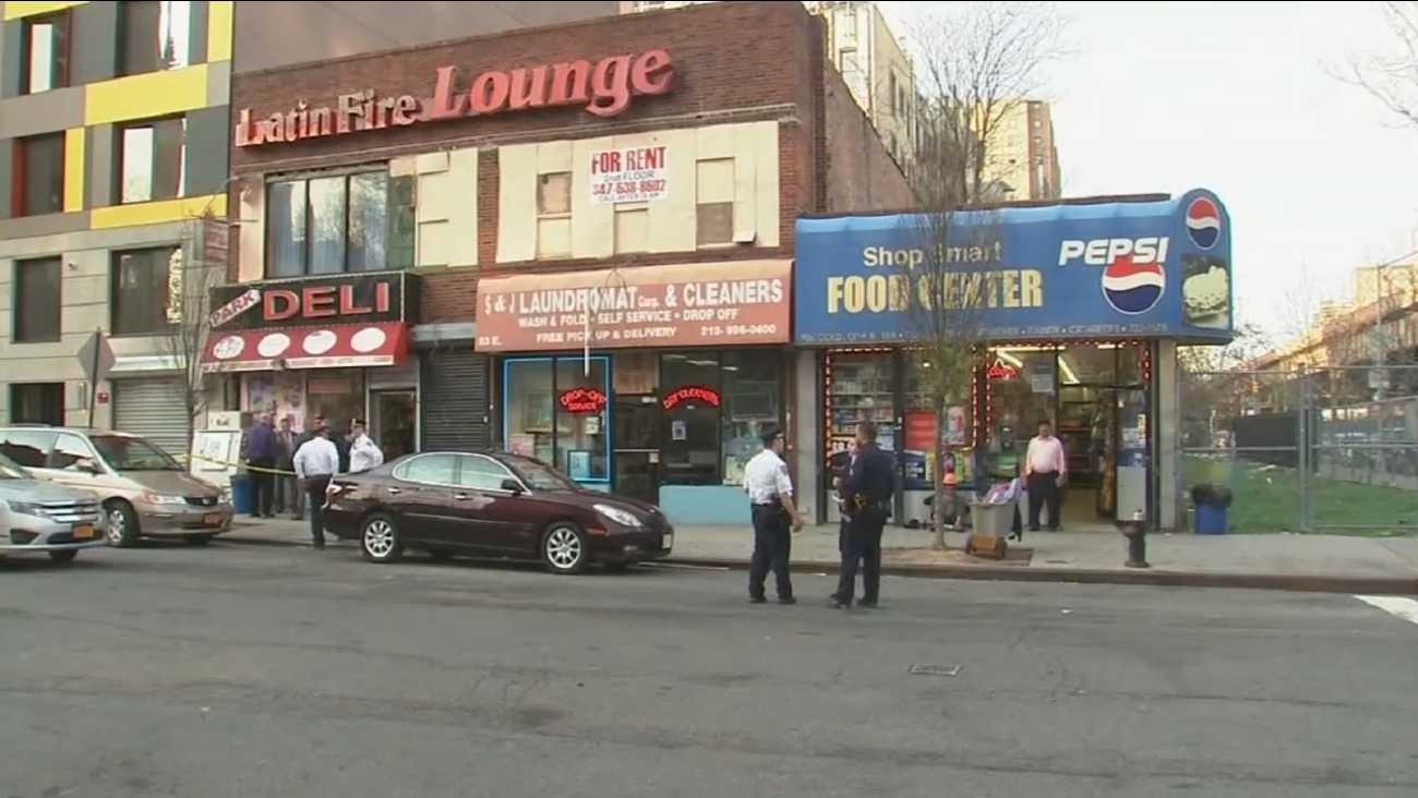 Police: Man shot in the back during dispute in East Harlem