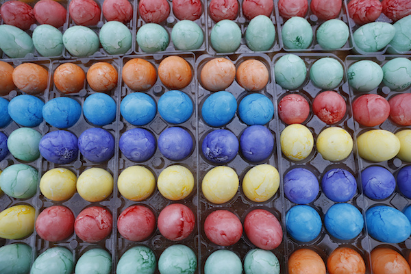 <div class='meta'><div class='origin-logo' data-origin='Creative Content'></div><span class='caption-text' data-credit='AP Photo/Carolyn Kaster'>Colored Easter eggs are ready to be used during the White House Easter Egg Roll on the South Lawn of the White House in Washington, Monday, April,17, 2017.</span></div>