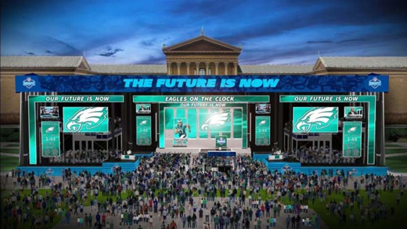 New renderings show NFL Draft setup on Philadelphia s Ben Franklin Parkway   f8aea3129f4