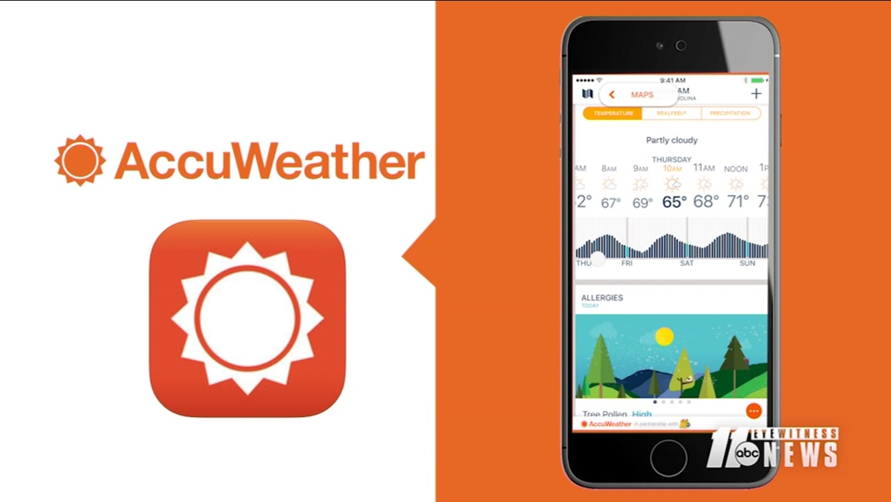Get The Accuweather App For Minute By Minute Forecasting Today