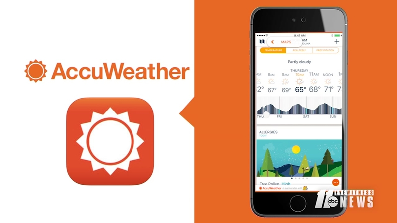 Get the ABC11/AccuWeather app for minute-by-minute forecasting today!