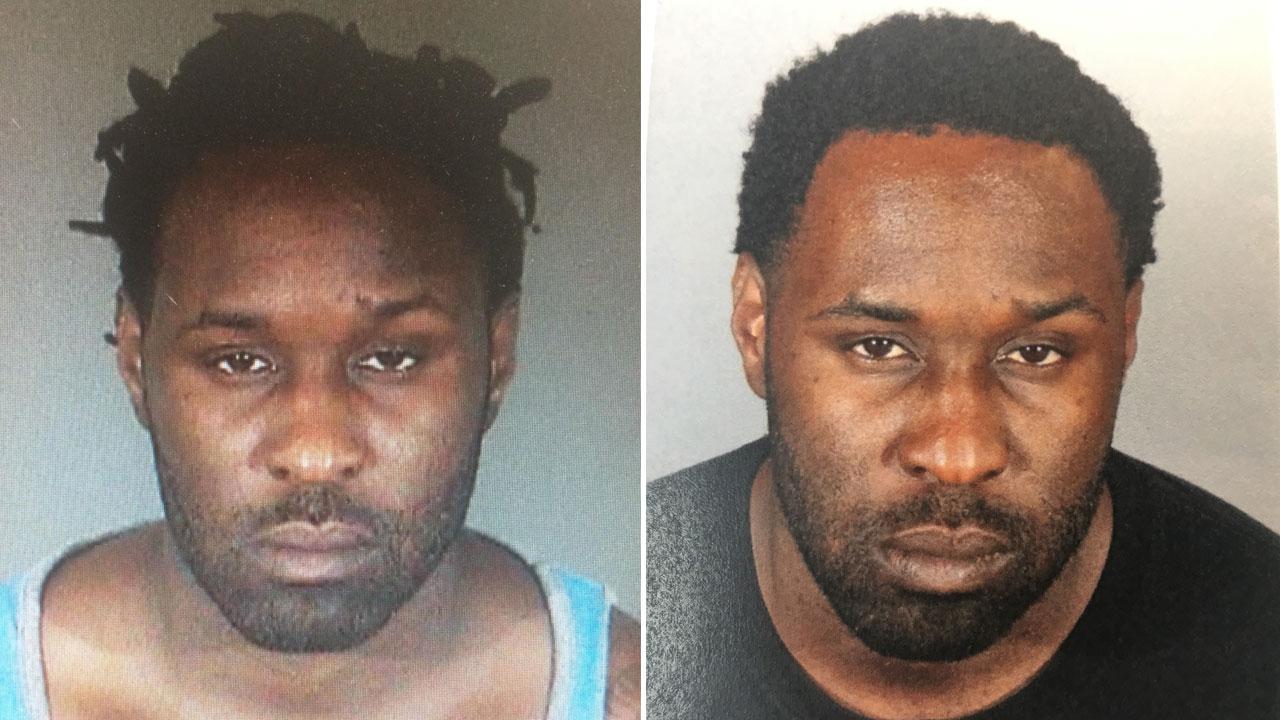 Enefiok Edem is shown in two undated mugshots.