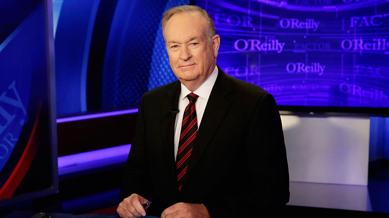 "Host Bill O'Reilly of ""The O'Reilly Factor"" program, on the Fox News Channel, poses for photos in New York on Oct. 1, 2015."