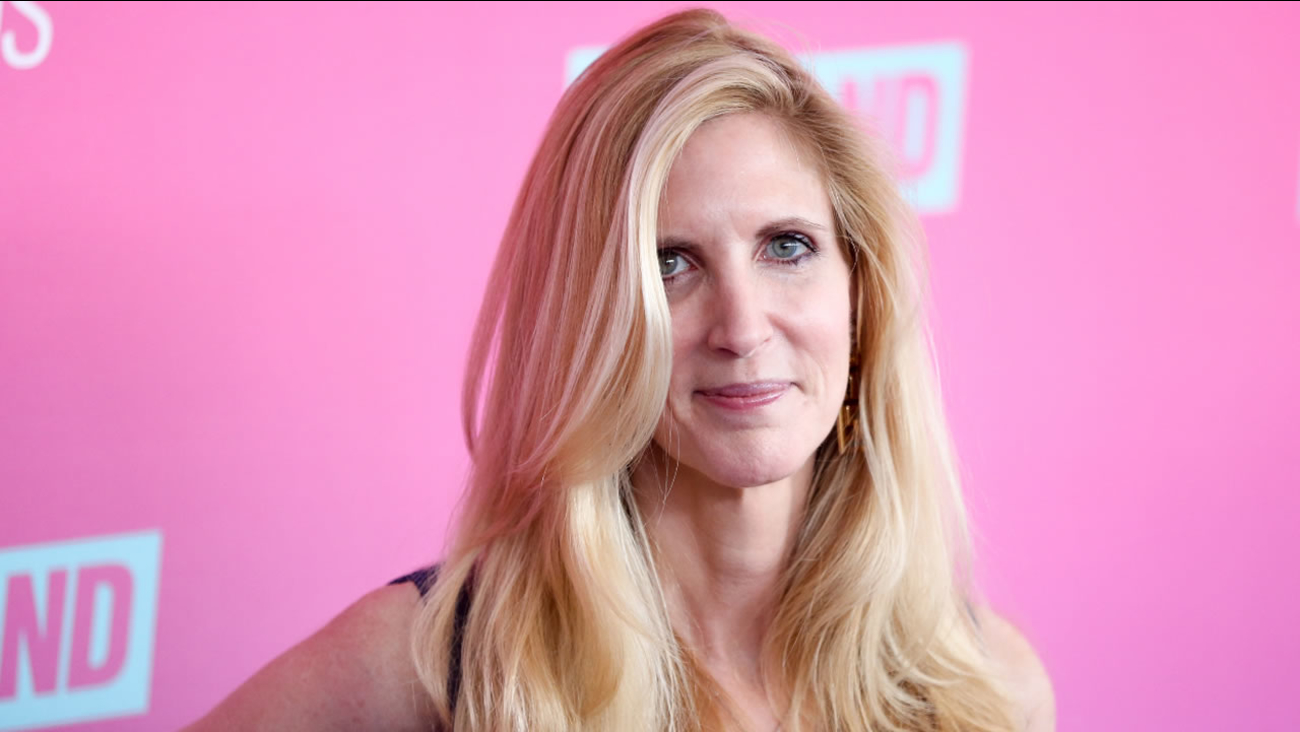 Ann Coulter arrives at the 2016 TV Land Icon Awards at Barker Hangar on Sunday, April 10, 2016, in Santa Monica, Calif.