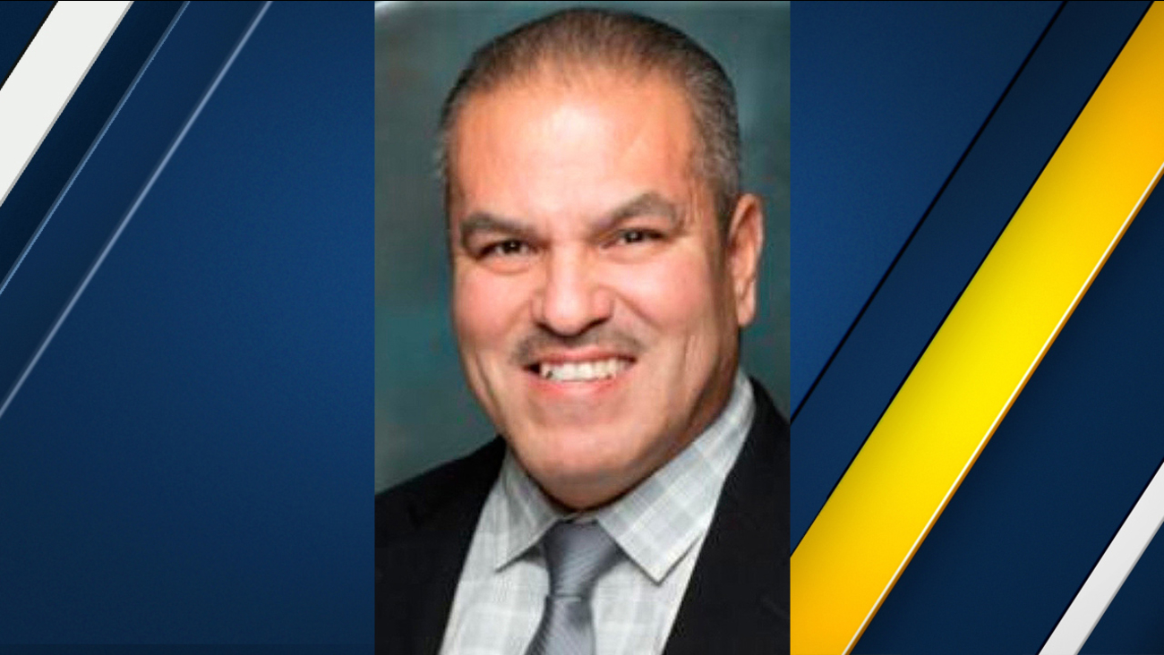 Former South El Monte Mayor Luis Aguinaga is seen in an official photo.