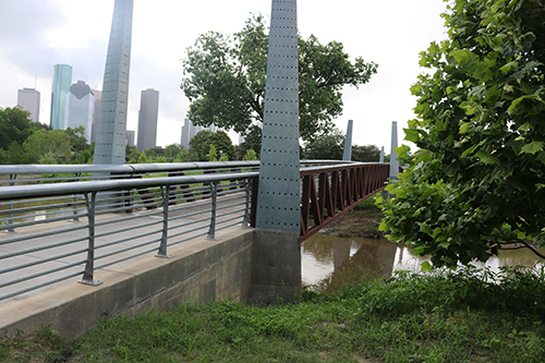<div class='meta'><div class='origin-logo' data-origin='KTRK'></div><span class='caption-text' data-credit='Danny Clemens'>Bridges over the bayou let visitors pick their own path through the park.</span></div>