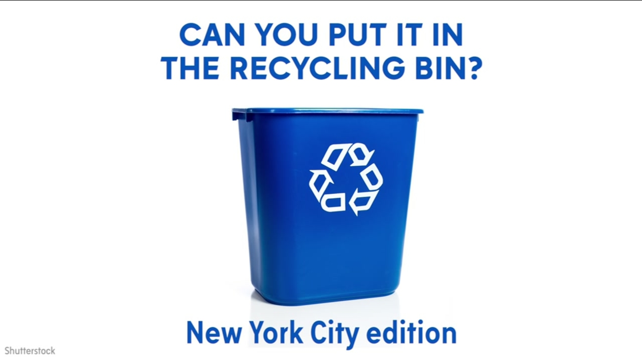New York City Recycling Guide Here S What You Can Put In The Bin Abc7ny