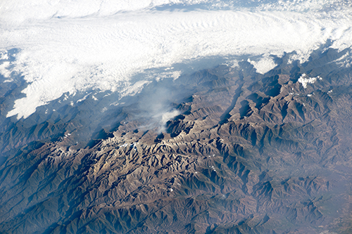 "<div class=""meta image-caption""><div class=""origin-logo origin-image none""><span>none</span></div><span class=""caption-text"">A dramatic view of the many peaks of Colombia's Santa Marta massif. (NASA)</span></div>"