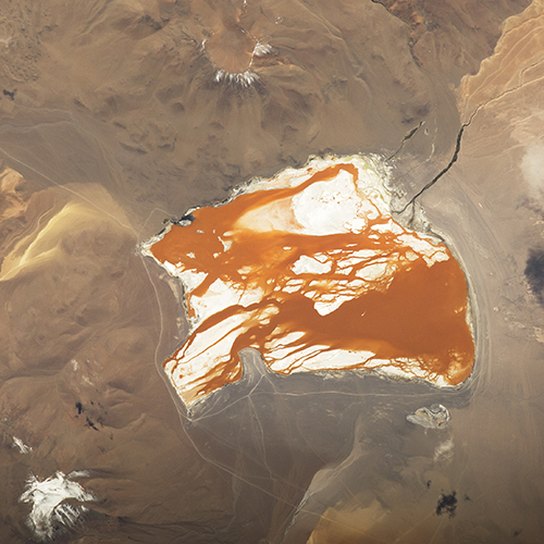 "<div class=""meta image-caption""><div class=""origin-logo origin-image none""><span>none</span></div><span class=""caption-text"">The brightly colored Laguna Colorada, unique in this part of the Bolivian Andes Mountains. (NASA)</span></div>"