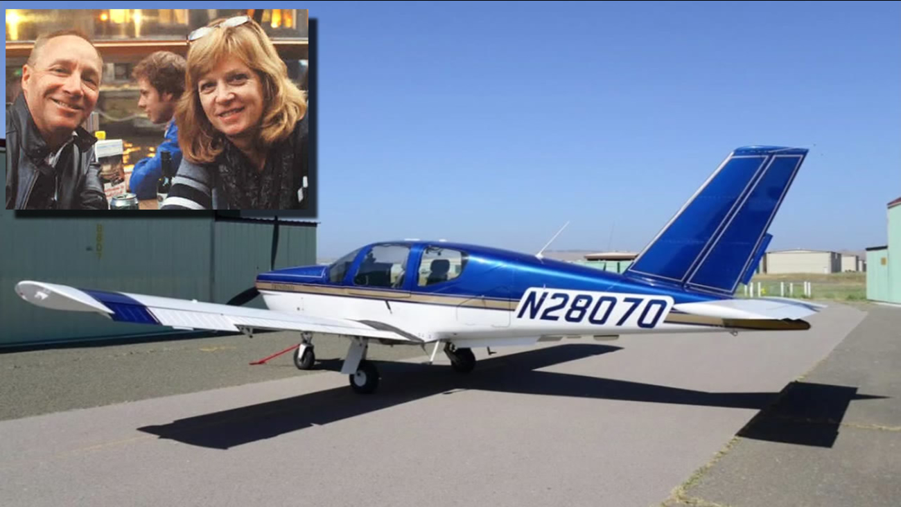 This is an undated image of a plane similar to the one the disappeared with a Santa Rosa couple inside.