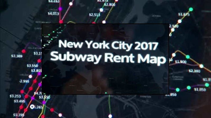 Subway Map Rent.Renthop App Helps You Find Apartments By Subway Stop Lists Median Rent