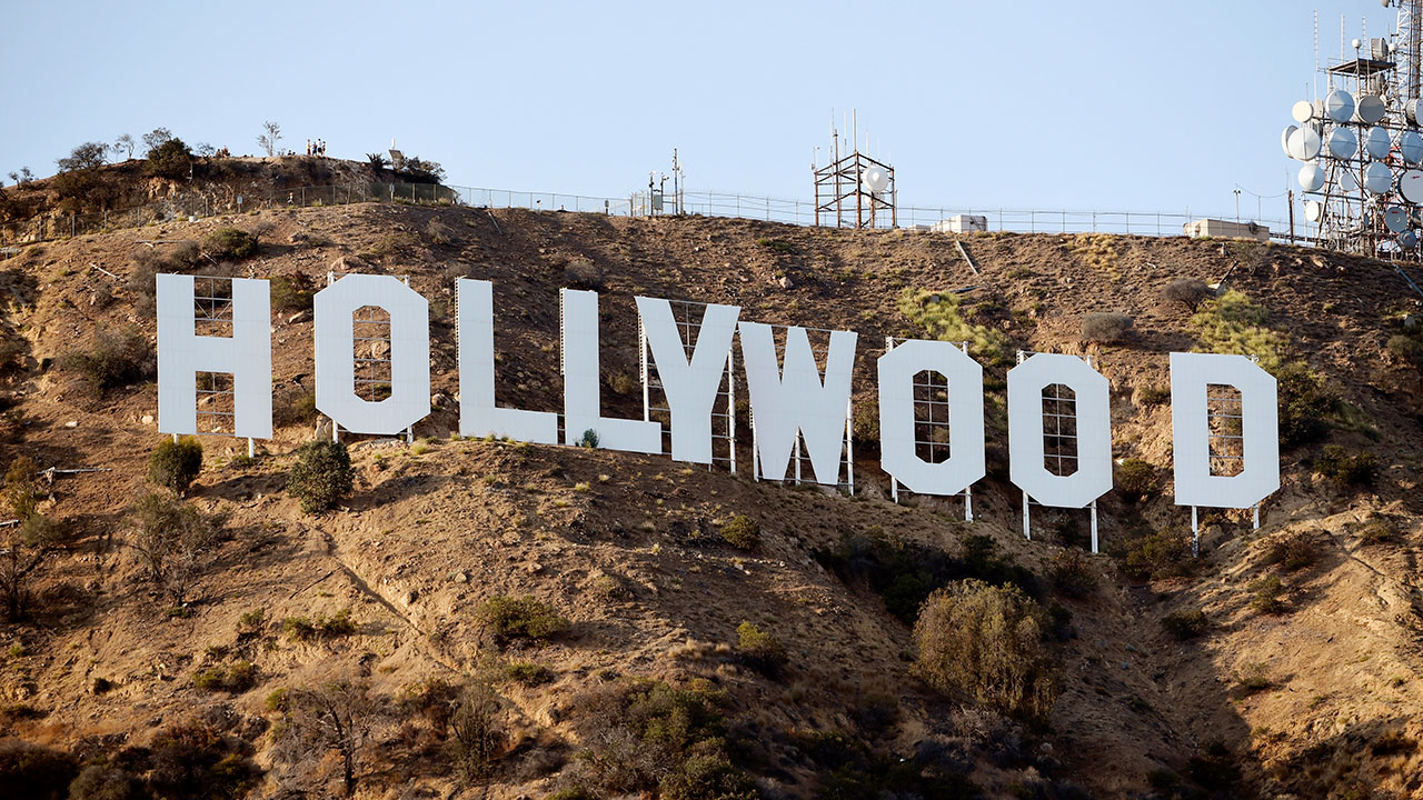 The Hollywood Sign is pictured in this file image from August 2016.