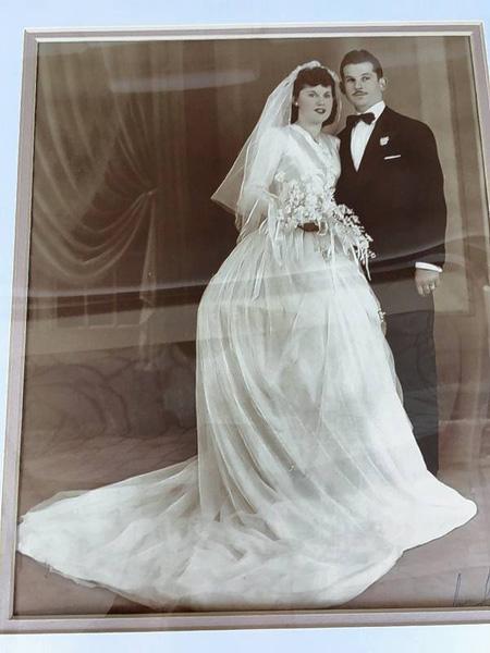 "<div class=""meta image-caption""><div class=""origin-logo origin-image none""><span>none</span></div><span class=""caption-text"">Isaac and Teresa Vatkin on their wedding day. (Courtesy of Howard Handler/Daily Herald)</span></div>"
