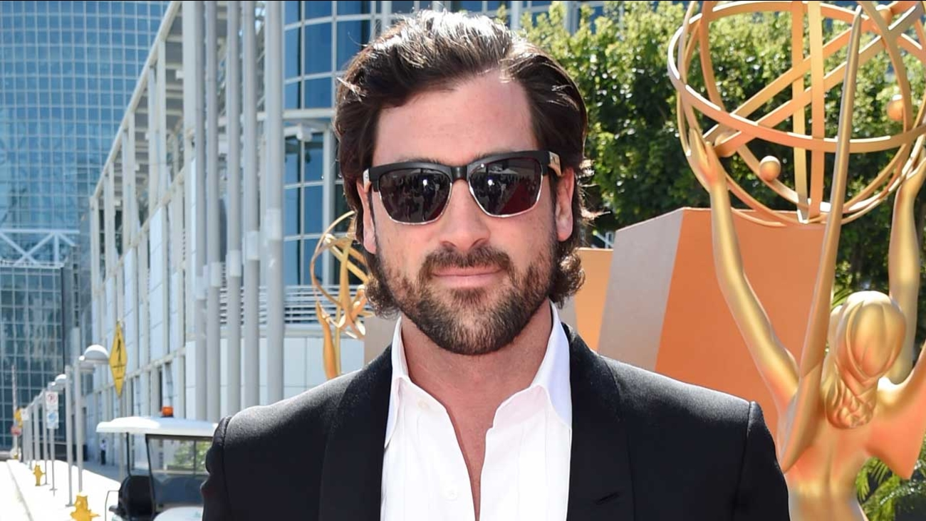 Maksim Chmerkovskiy arrives at the 67th Primetime Emmy Awards on Sunday, Sept. 20, 2015, at the Microsoft Theater in Los Angeles.