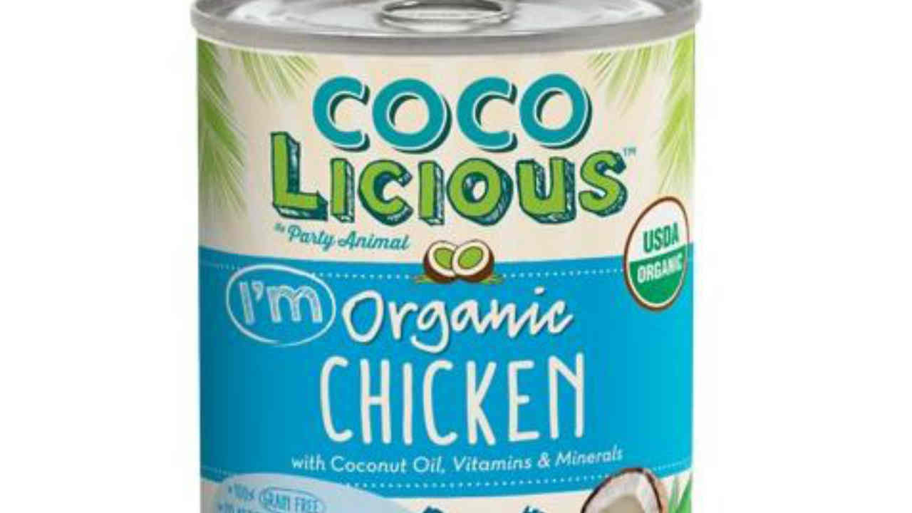 A can of Cocolicious dog food is seen in this undated image.