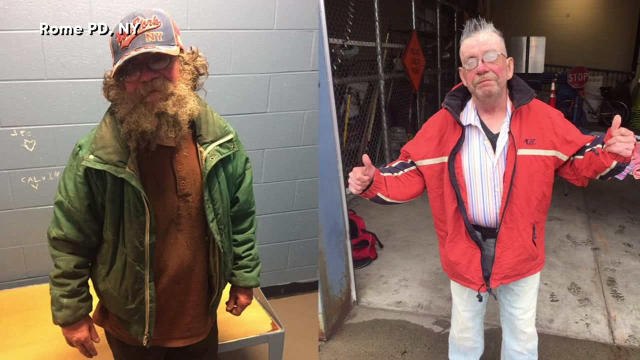 Police Give Homeless Man A Makeover Abc13