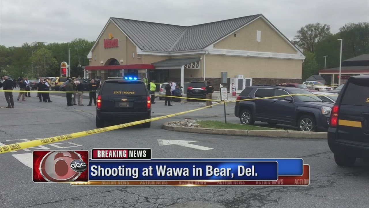 Suspect in murder of Delaware State Police trooper shot