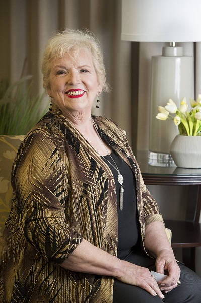 <div class='meta'><div class='origin-logo' data-origin='none'></div><span class='caption-text' data-credit=''>Meet Val Rae Gwin Spann. She is one of 15 women who will take to the stage Thursday, competing for the crown and title of Ms. Pasadena Senior.</span></div>