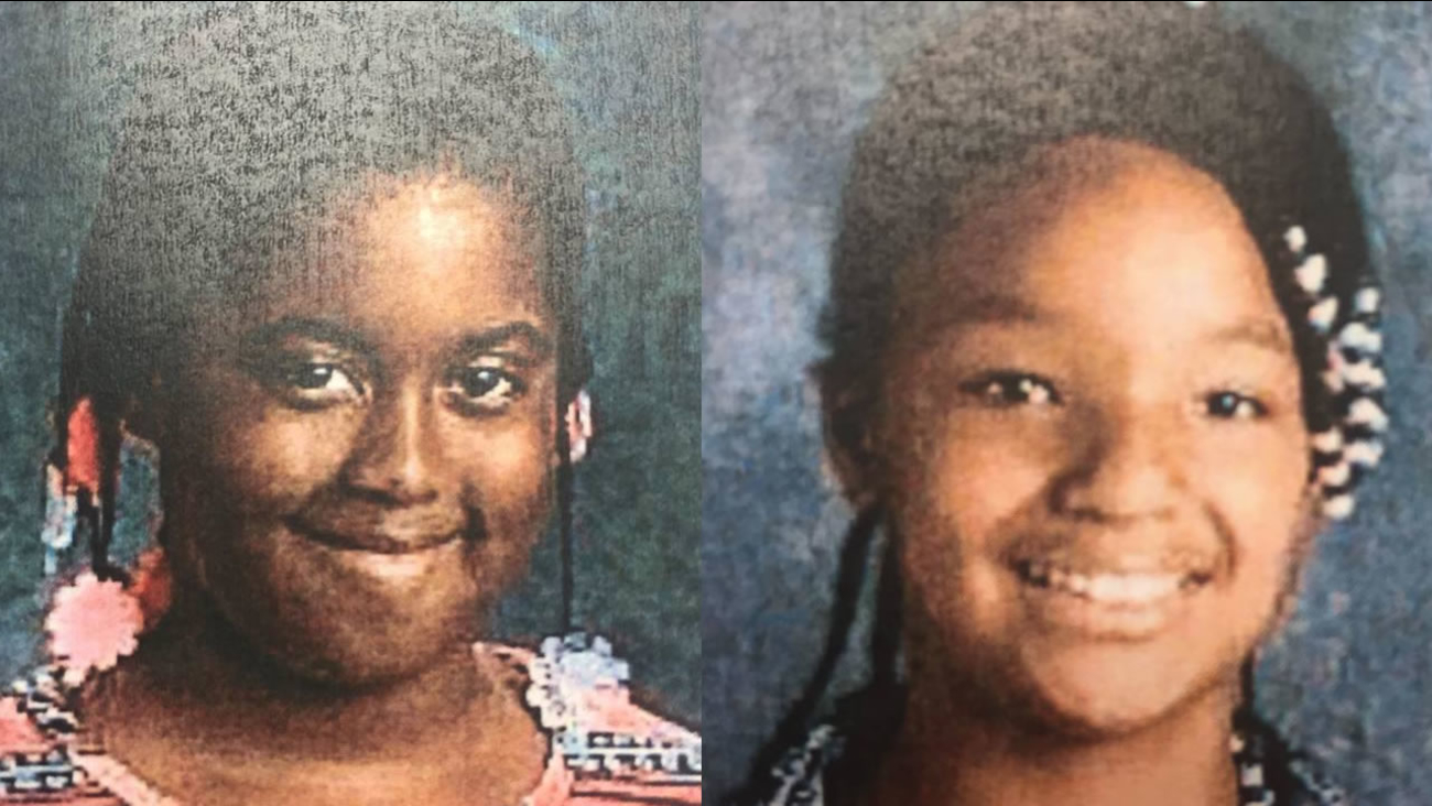 Makayla Hayes and Samiyah were last seen leaving Park Elementary School in Hayward Wednesday. They are missing and considered to be at-risk.