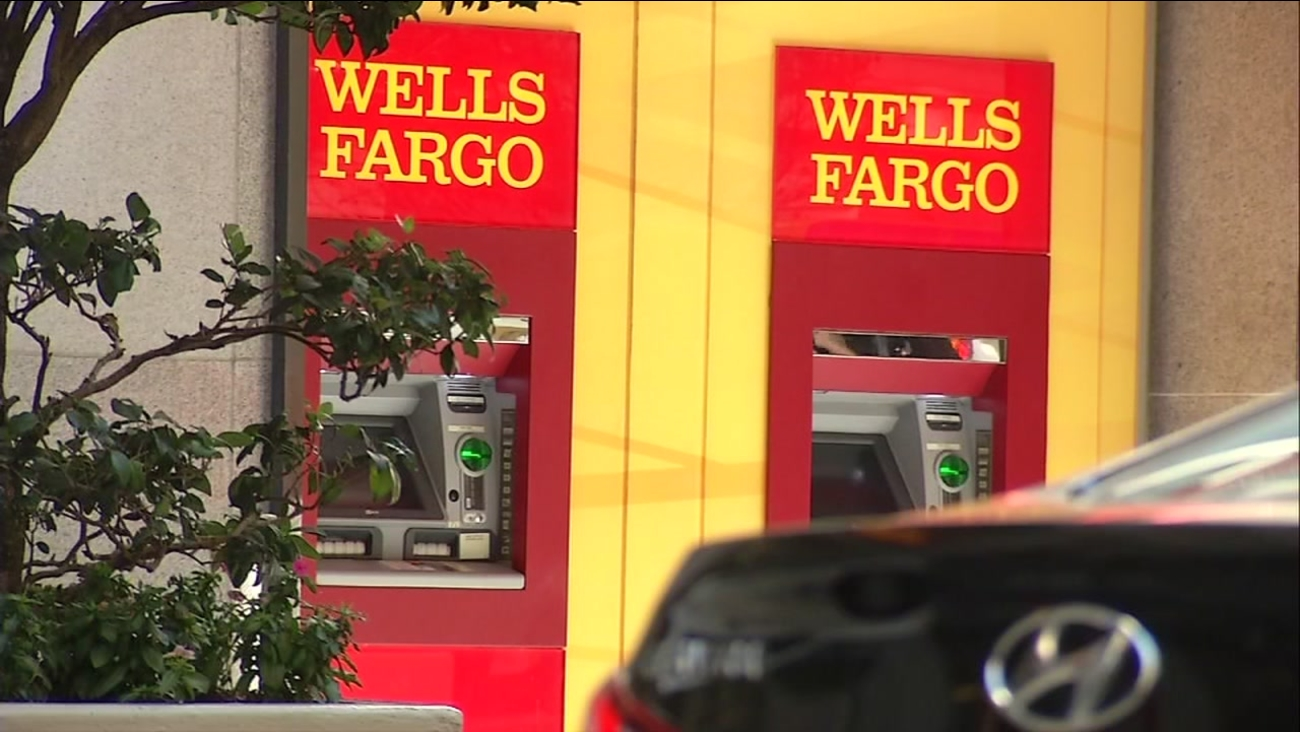 This is an undated image of Wells Fargo ATM's.