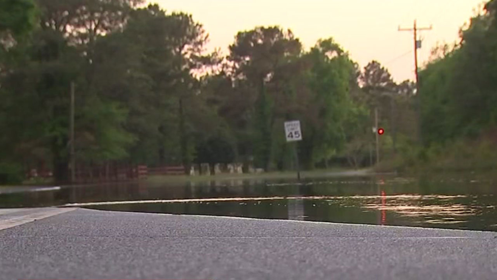 Woman drowns after driving through floodwaters | abc11 com