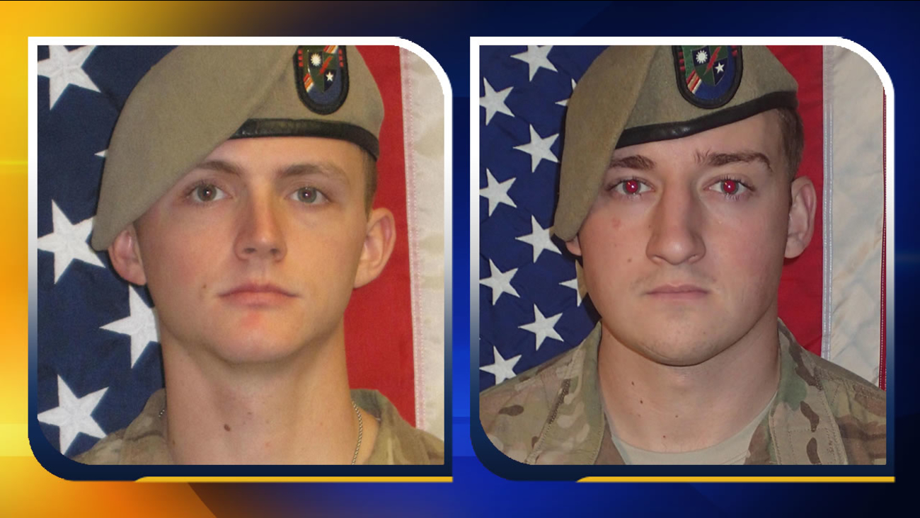 Sgt. Joshua P. Rodgers and Sgt. Cameron H. Thomas