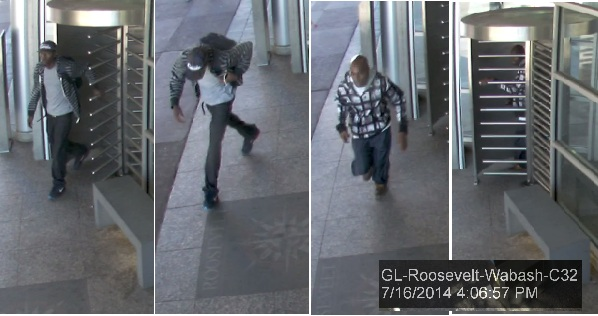 "<div class=""meta image-caption""><div class=""origin-logo origin-image ""><span></span></div><span class=""caption-text"">The Chicago Police Department released surveillance images of the suspects sought in multiple CTA Orange Line robberies Wednesday afternoon.</span></div>"