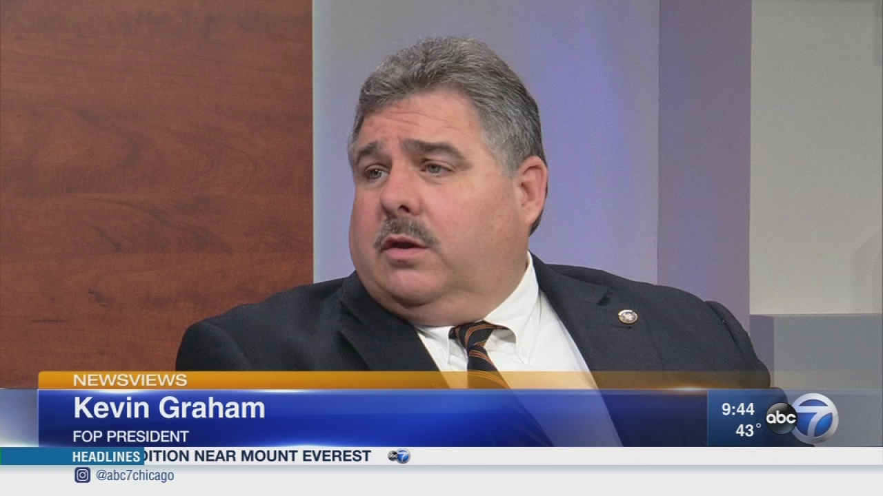 Newsviews Part 1: FOP President Kevin Graham