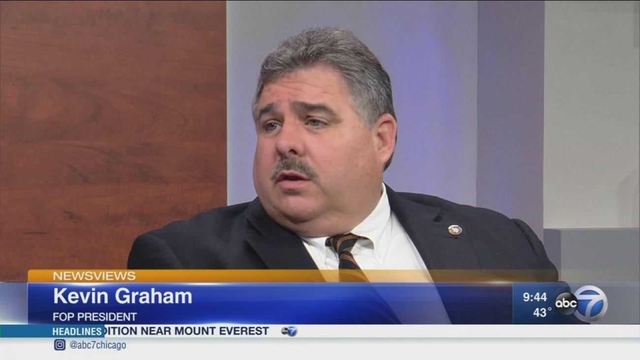 Newsviews Part 1: FOP President Kevin Graham