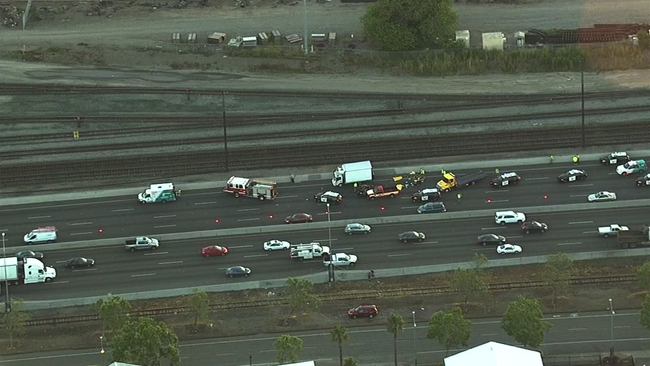 5-year-old girl, man killed in crash on I-880 in Oakland identified