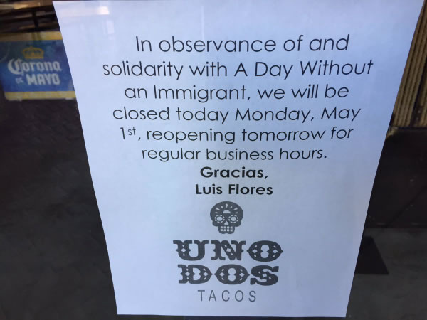 "<div class=""meta image-caption""><div class=""origin-logo origin-image none""><span>none</span></div><span class=""caption-text"">Stores are closed in observance of May Day in San Francisco on Monday, May 1, 2017. (KGO-TV)</span></div>"
