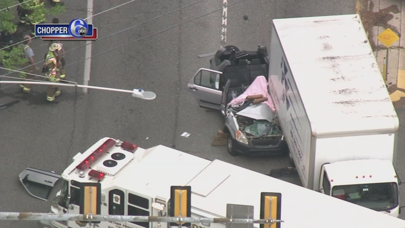 SUV, box truck involved in fatal Nether Providence crash
