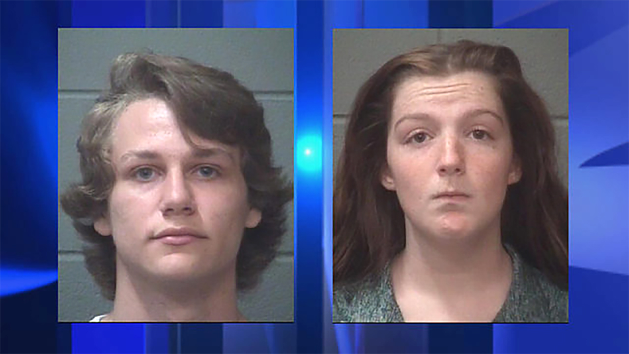 Brian Joshua Anderson, left, and Brittney Renee Luckenbaugh