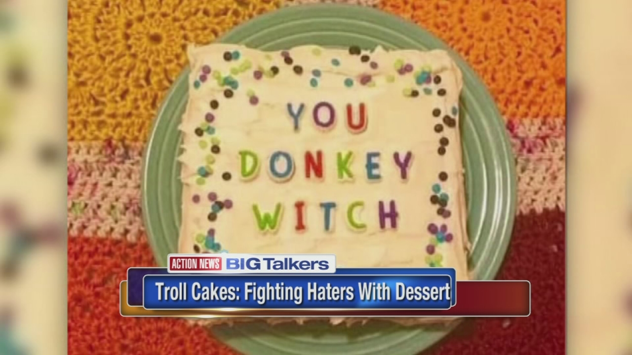 Troll Cake Lets You Clap Back Against Your Haters 6abc