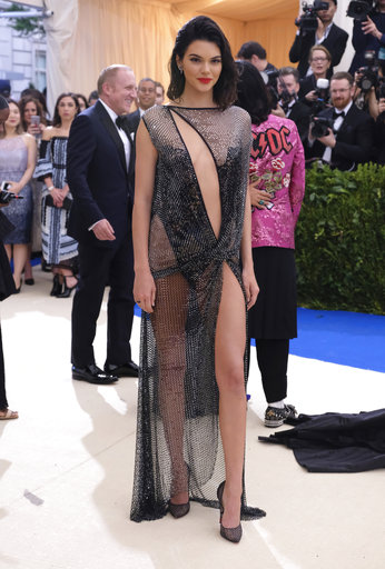 "<div class=""meta image-caption""><div class=""origin-logo origin-image ap""><span>AP</span></div><span class=""caption-text"">Kendall Jenner attends The Metropolitan Museum of Art's Costume Institute benefit gala celebrating the opening of the Rei Kawakubo/Comme des Garçons: Art of the In-Between exhibit (Charles Sykes/Invision/AP)</span></div>"