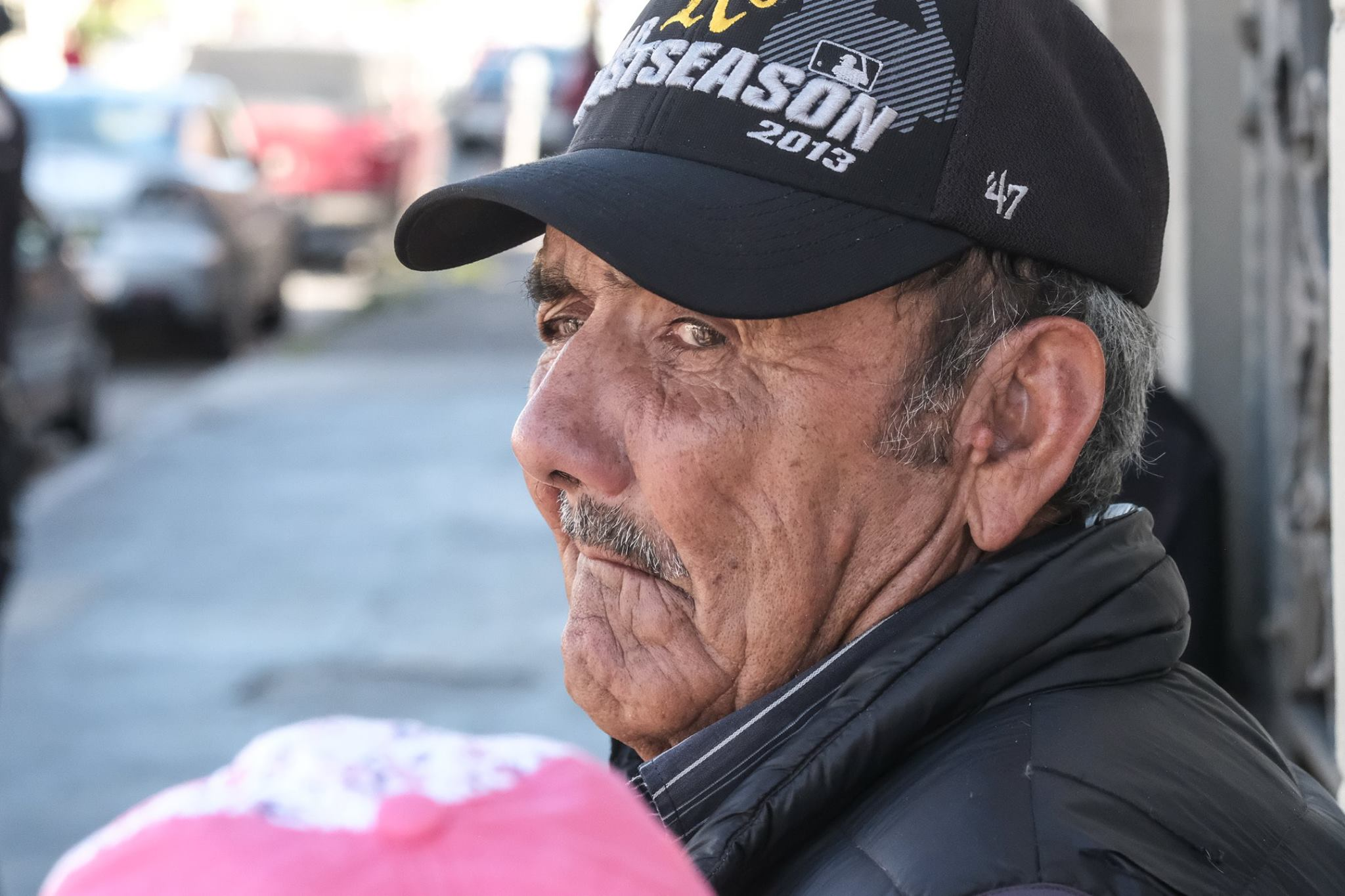 <div class='meta'><div class='origin-logo' data-origin='none'></div><span class='caption-text' data-credit='KGO-TV'>A man attends May Day festivities in Oakland, Calif. on Monday, May 1, 2017.</span></div>