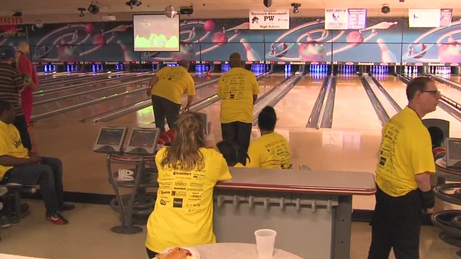 N H S  annual bowling fundraiser