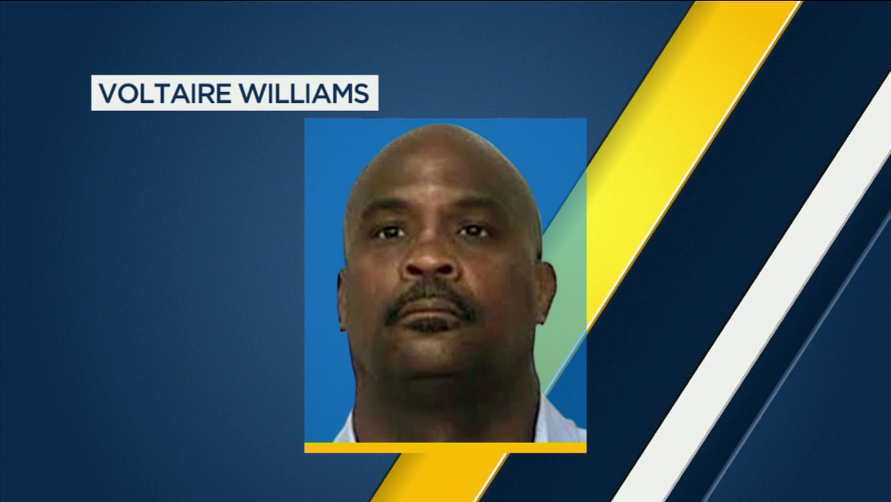 A mugshot of Voltaire Williams, 54, who was convicted of conspiracy in the 1985 death of 42-year-old LAPD Detective Thomas Williams.