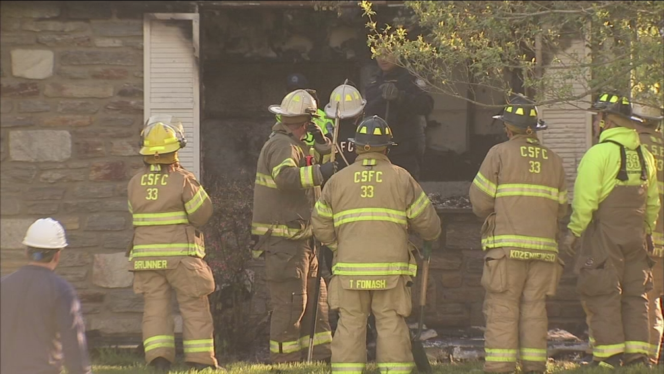 Fire claims man's life in Whitpain Twp.